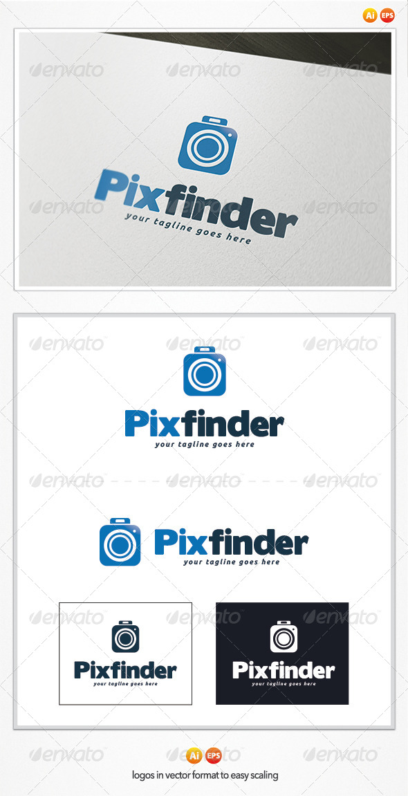 Pix Finder Logo Template - Objects Logo Templates