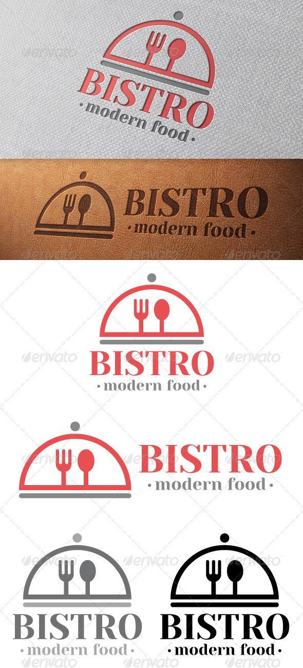 Bistro Logo Template - Food Logo Templates