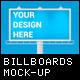 Billboards Mock-up - GraphicRiver Item for Sale