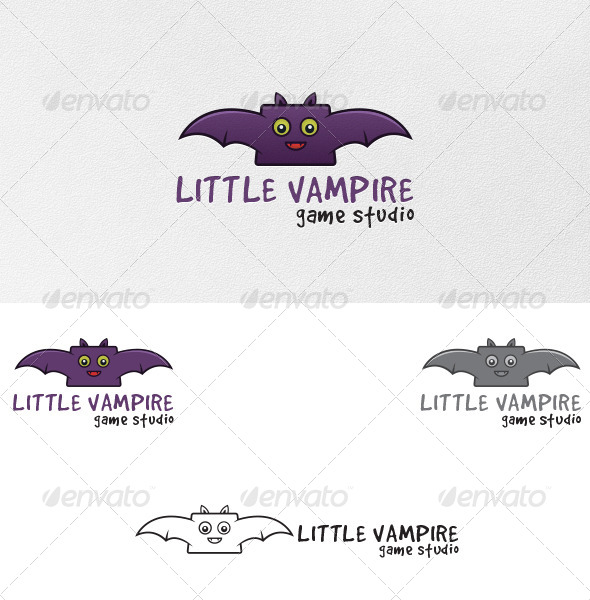 Vampire Bat - Logo Template - Animals Logo Templates
