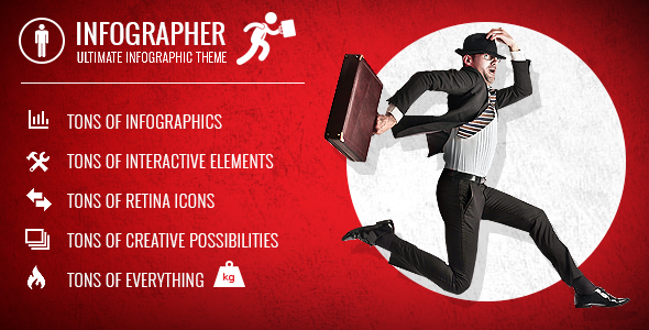 Infographer - Multi-Purpose Infographic Theme - Creative WordPress