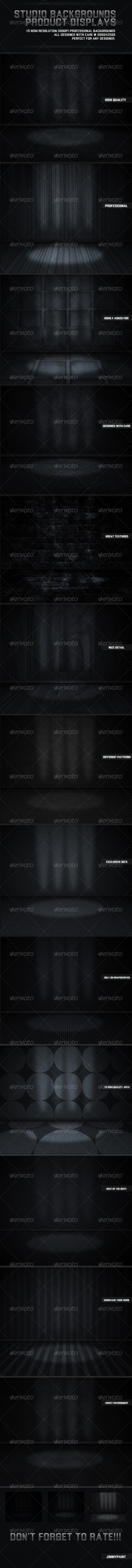 Studio Backgrounds Product Displays  - Miscellaneous Backgrounds