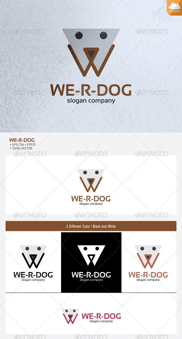 We are Dog - Animals Logo Templates