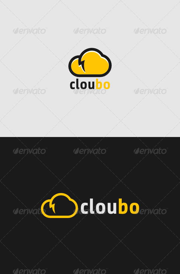 Cloubo Logo - Objects Logo Templates