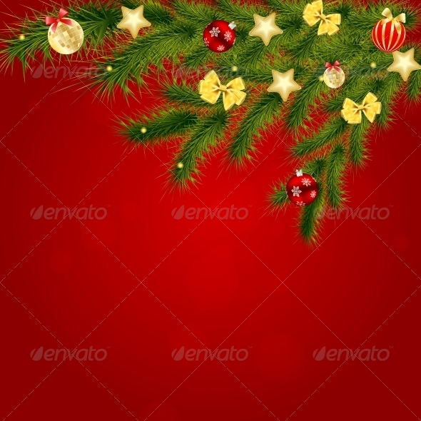 Christmas and New Year Background - New Year Seasons/Holidays