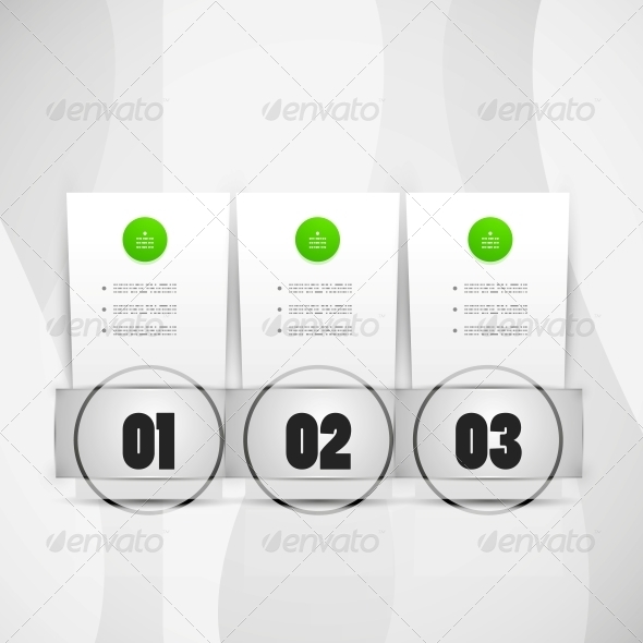 Infographics Modern Design Template - Backgrounds Decorative