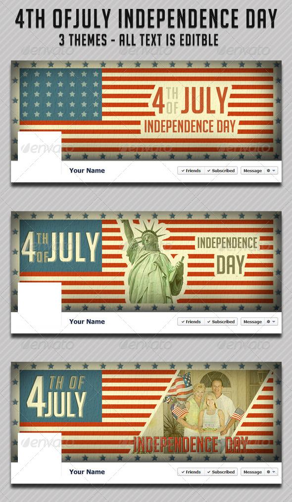 4th of July Fb Timeline - Facebook Timeline Covers Social Media