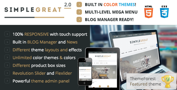 SimpleGreat – Premium Responsive OpenCart theme! - Shopping OpenCart
