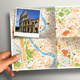 Map In Hands Mock-up - GraphicRiver Item for Sale