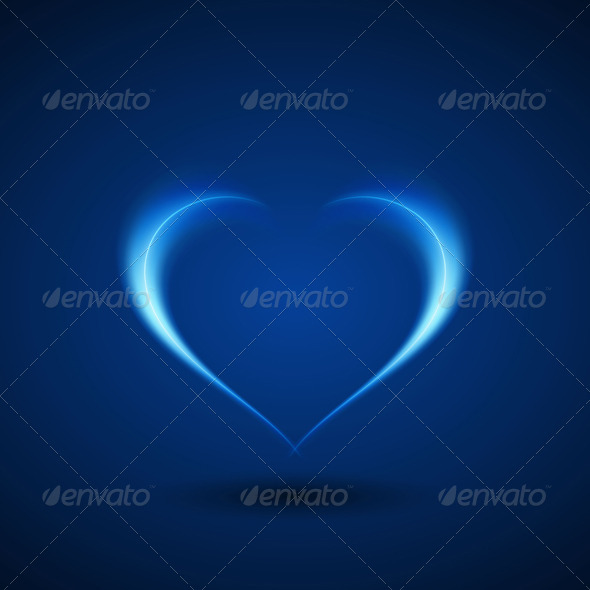 Love Heart - Abstract Conceptual