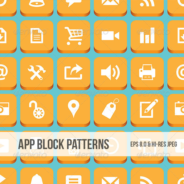 App Block Pattern - Web Technology