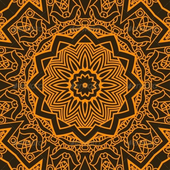 Square Decorative Design Element - Patterns Decorative