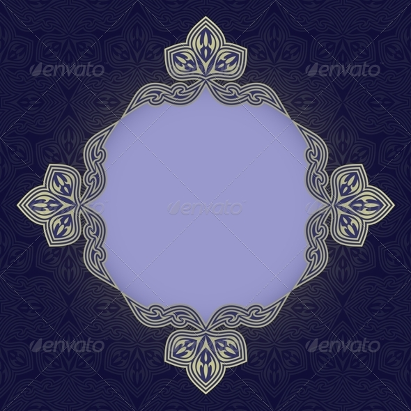 Blue Patterned Background - Backgrounds Decorative