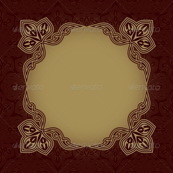 Dark Red Patterned Background - Backgrounds Decorative