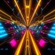 Modern Neon Lights Tunnel - VideoHive Item for Sale
