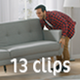 Collection of Happy Couple Moves into New Apartment - Pack of 13 Clips in 4K - VideoHive Item for Sale