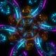 4k Neon Floral Mandala - VideoHive Item for Sale