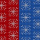 Christmas Knitted Falling Snowflakes Background - VideoHive Item for Sale