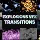 Smoke And Explosions Vfx Transitions | Motion Graphics - VideoHive Item for Sale