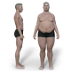 Weight Loss/Gain - White Male - VideoHive Item for Sale