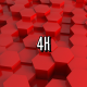 Red Hexagons - VideoHive Item for Sale