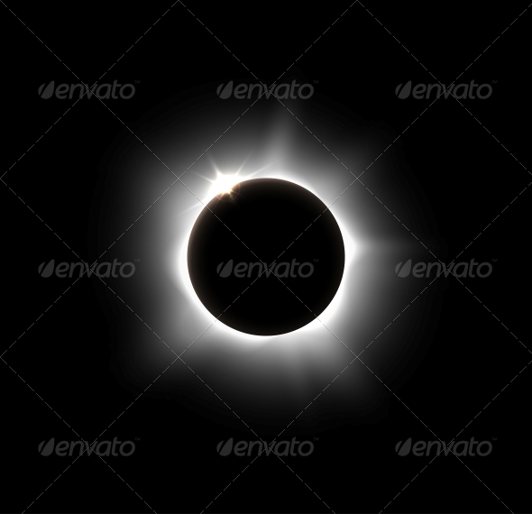Solar Eclipse - Backgrounds Decorative