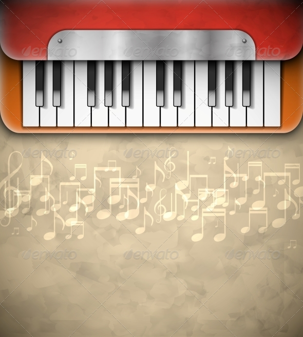 Background with Piano - Media Technology