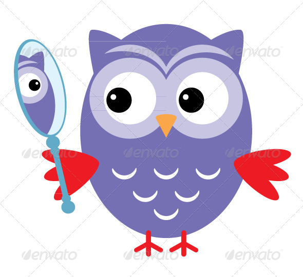 Owl Mirror - Animals Characters