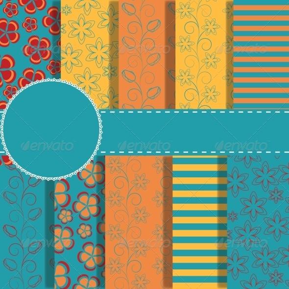 Set of Paper for Scrapbook - Christmas Seasons/Holidays