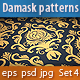 Seamless Damask Patterns Set#4 - GraphicRiver Item for Sale