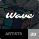 Wave - WordPress Theme for Artists Nulled