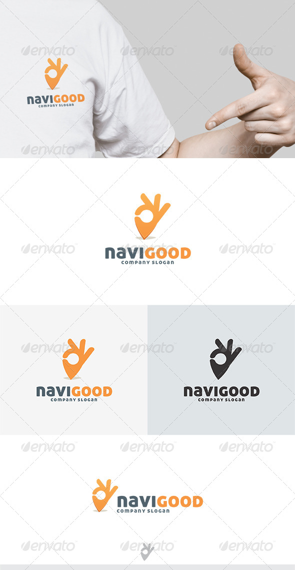 Navi Good Logo - Vector Abstract