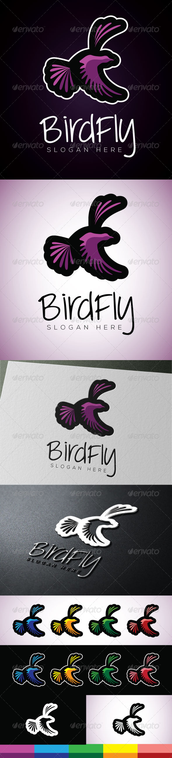 Birdfly - Vector Abstract