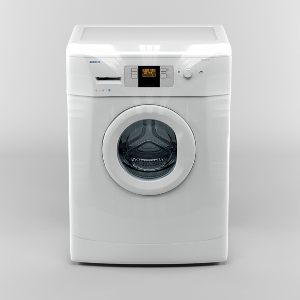 Beko washing machine - 3DOcean Item for Sale