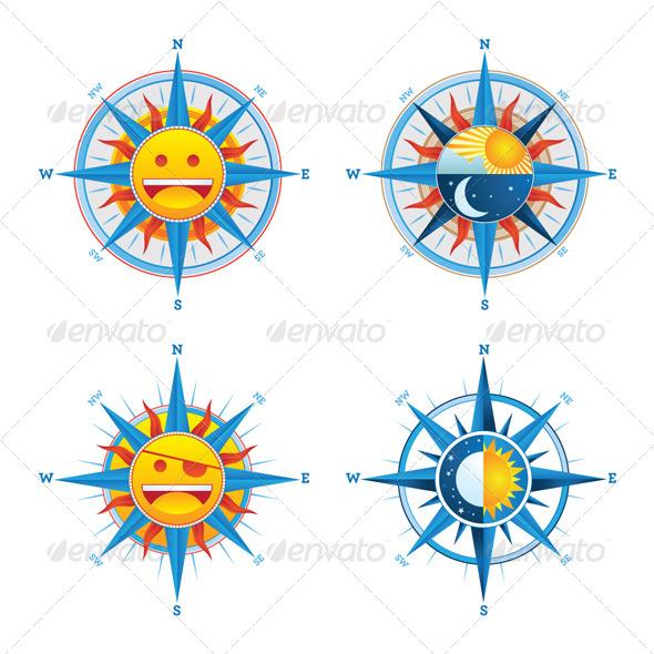 Compass  - Decorative Symbols Decorative