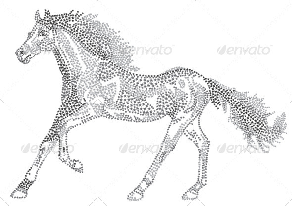 2014 Chinese Lunar New Year of the Horse Zodiac - Animals Characters