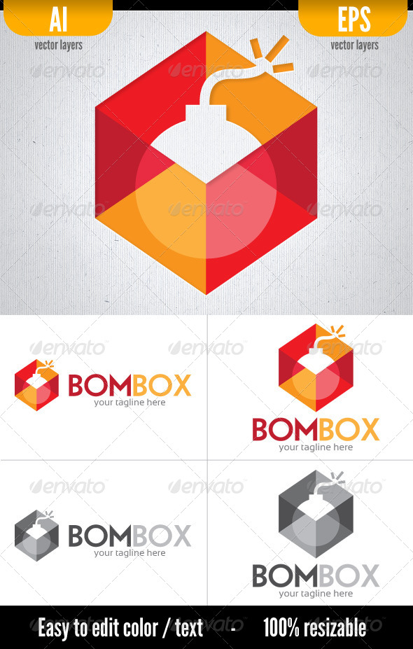 Bombox - Vector Abstract