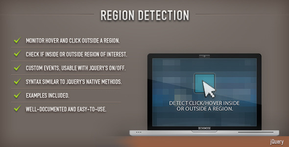 Region Detection (jQuery) - CodeCanyon Item for Sale