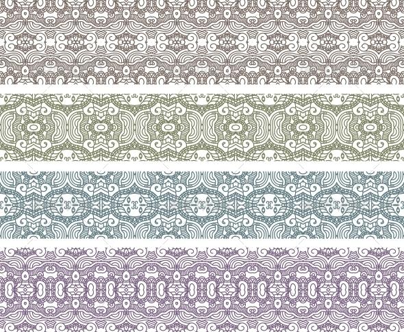 Aztec Seamless Pattern - Patterns Decorative