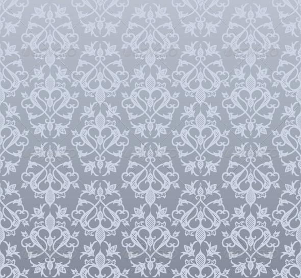 Vintage Seamless Wallpaper Pattern - Patterns Decorative