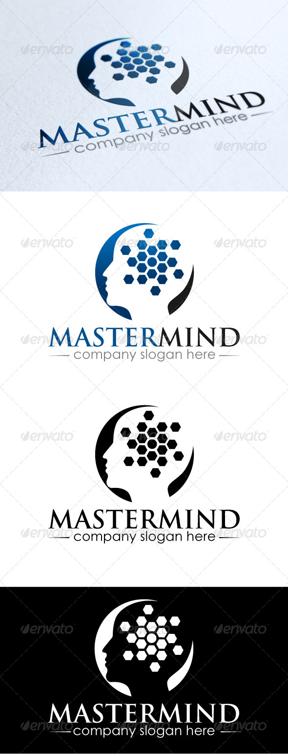 MasterMind Solutions - Humans Logo Templates