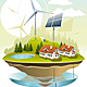 Ecovillage - GraphicRiver Item for Sale