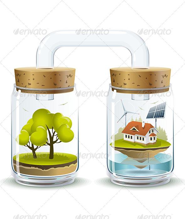 Ecosystem - Nature Conceptual