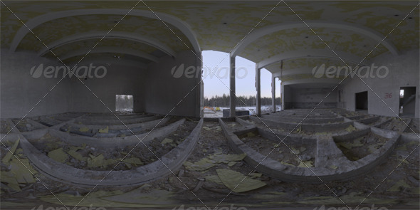 Industrial Area HDRI - Demolition Site III - 3DOcean Item for Sale