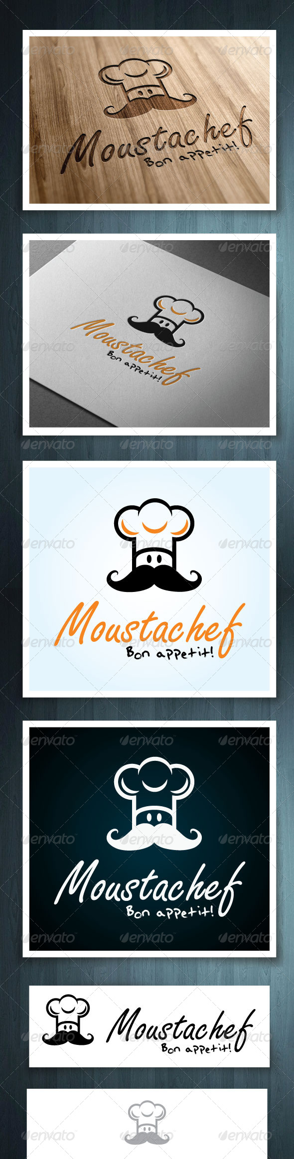 Moustachef - Vector Abstract