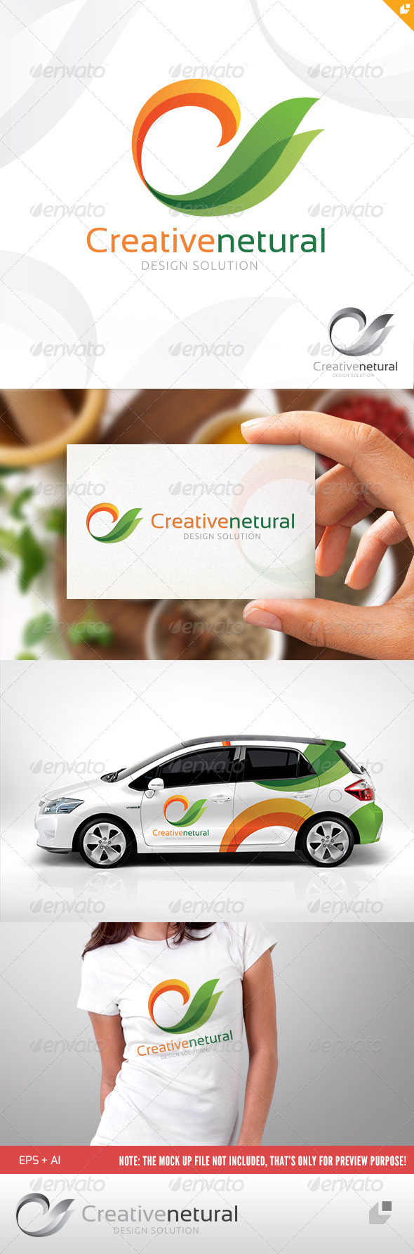 Creative Natural Logo - Crests Logo Templates