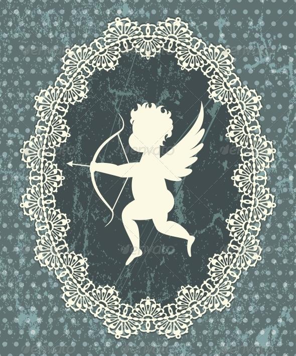 Cupid Medallion - Valentines Seasons/Holidays