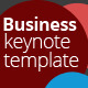 Business Presentation Keynote Template - GraphicRiver Item for Sale