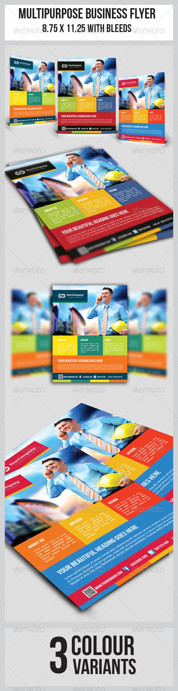 Multipurpose Business Flyer  - Corporate Flyers