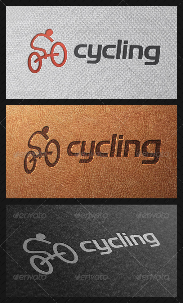 Cycling Team Logo Template - Humans Logo Templates